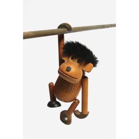 Wooden monkey from Denmark