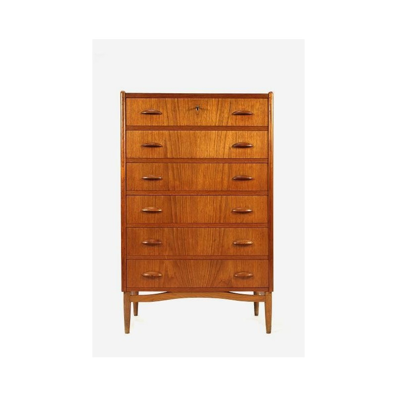 Chest of drawers in teak from Denmark