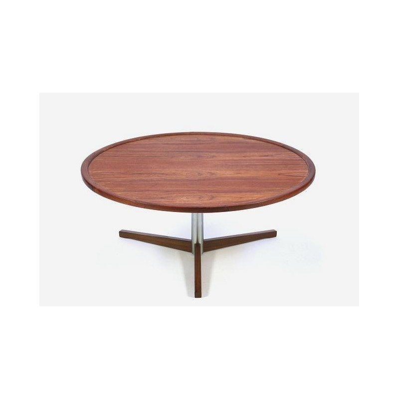 Round coffee table from Scandinavia