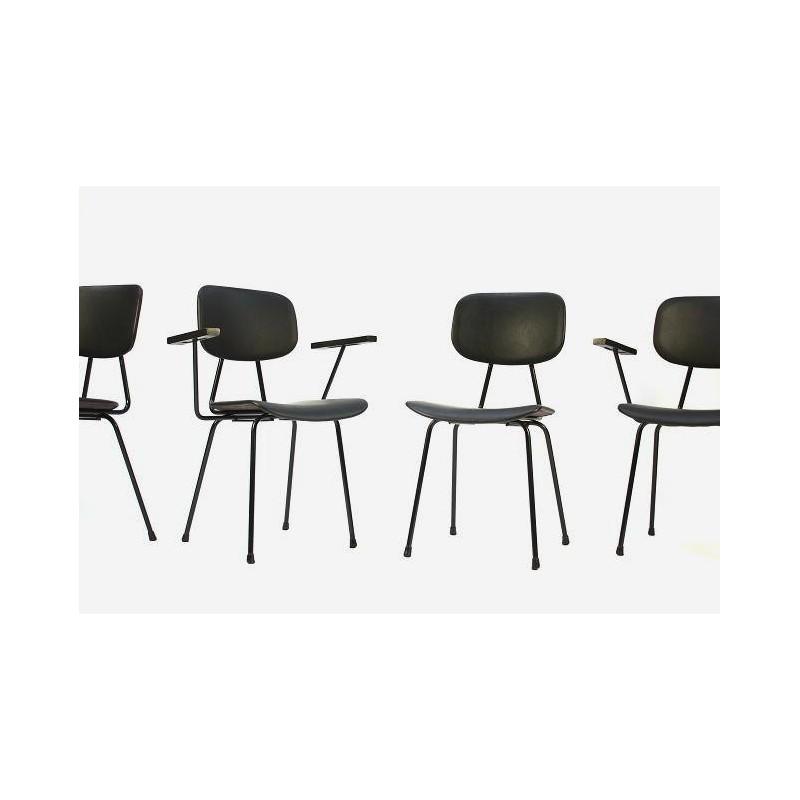 Set van 4 Kembo stoelen