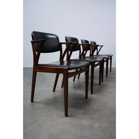 Bovenkamp teak chairs set of 4