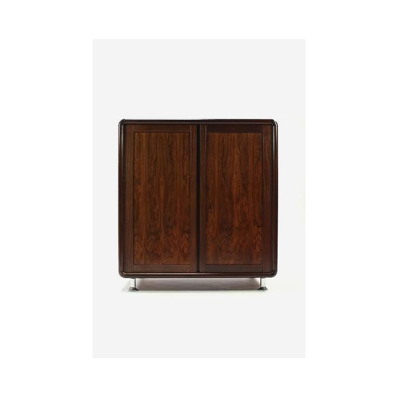 Palissander houten kast gesloten