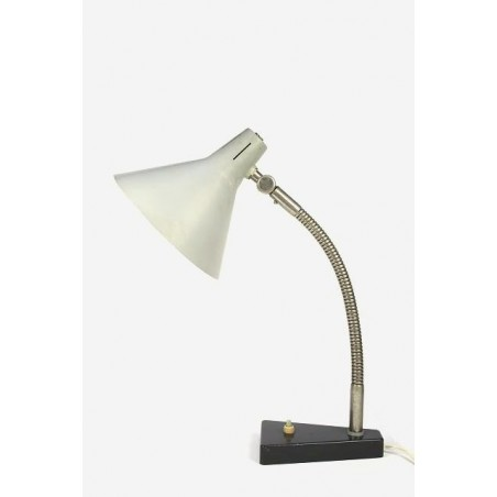 Hala bureaulamp met grijze kap