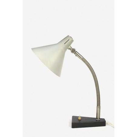 Hala desk lamp with grey shade
