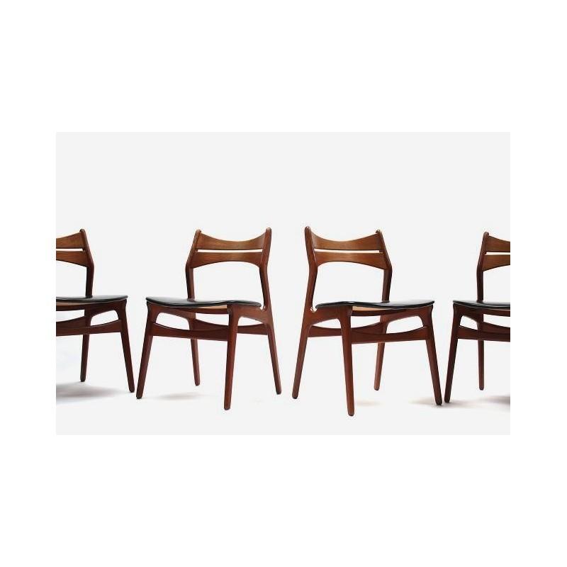Erik Buck dining chairs model 310
