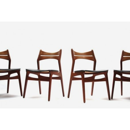 Erik Buck dining chairs model 310