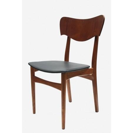 Deense stoel in teak