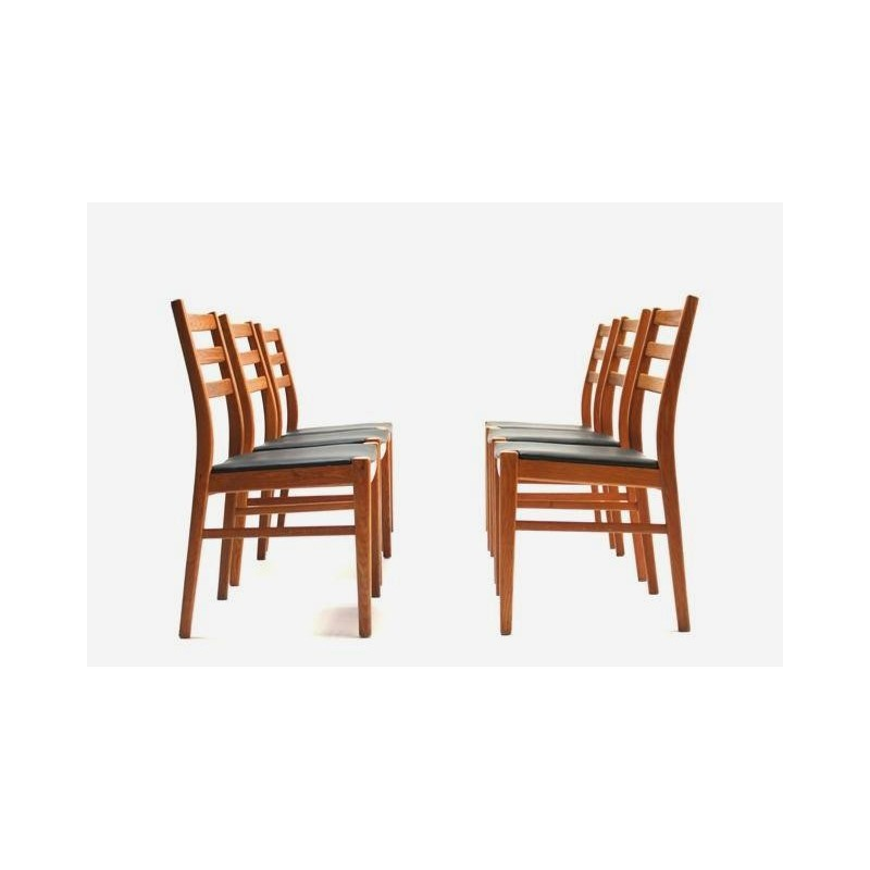 Set of 6 Swedish dining table chairs