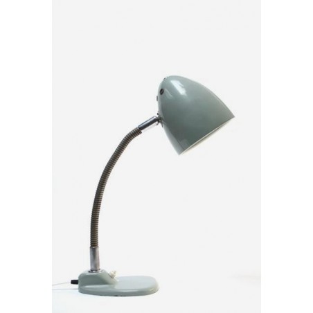 Table or desk lamp grey