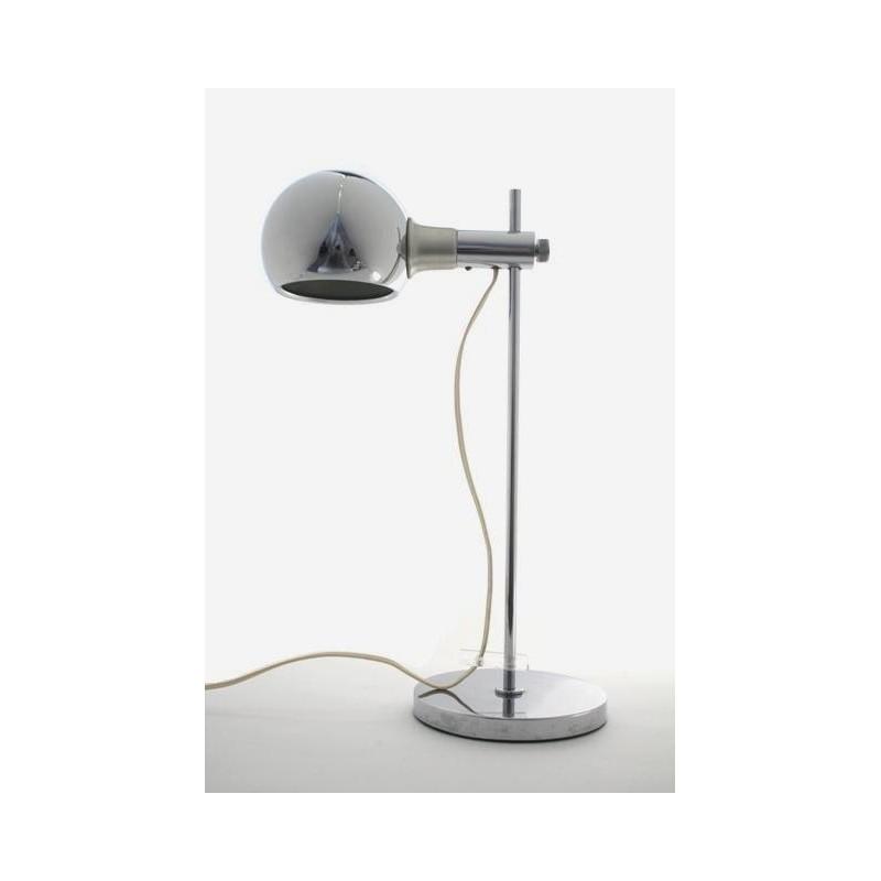 Chrome design tafel-/bureaulamp