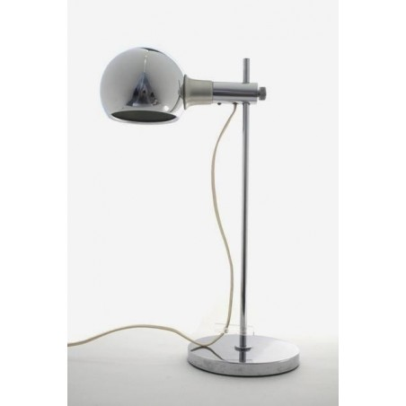Chrome design table/ desk lamp