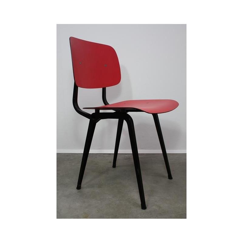 Friso Kramer Revolt stoel rood/zwart