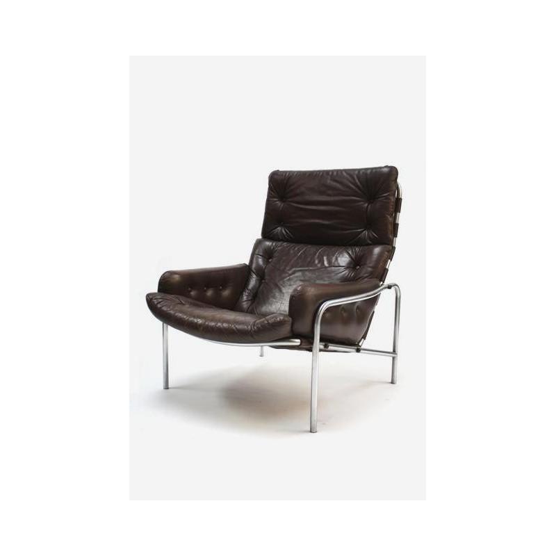 Martin Visser Nagoya 1/ SZ09 stoel donkerbruin