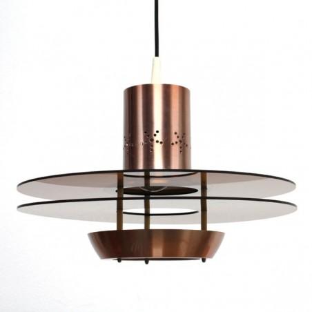 Hanging lamp with plexiglass