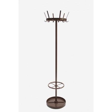 Metal coat rack by Ahrend brown