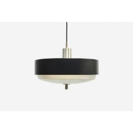 Bllack hanging lamp from the 1950's