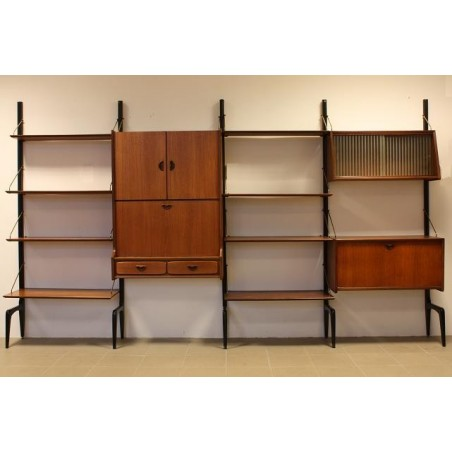 Webe wall system 1950's 2