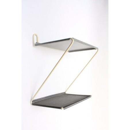 Metalen wand-/telefoonrek
