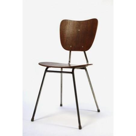 Houten plywood stoel uit 1957