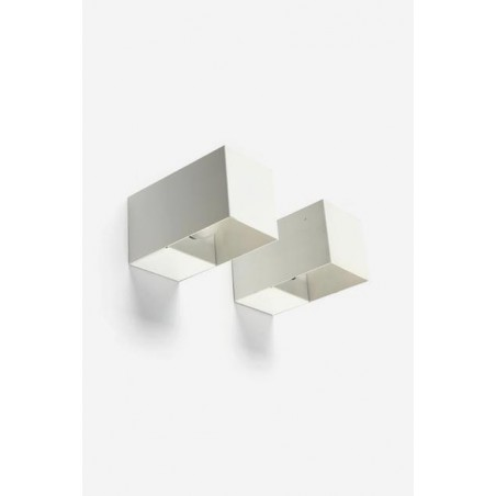 Set of 2 Philips wall sconses white