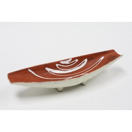 Fruitschaal van aardewerk
