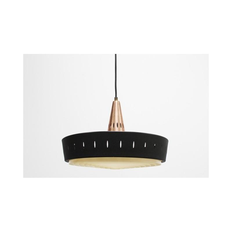Black/ brass hanging lamp