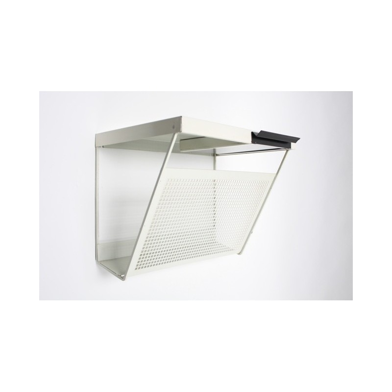 Metal wall/telephone rack by Pilastro