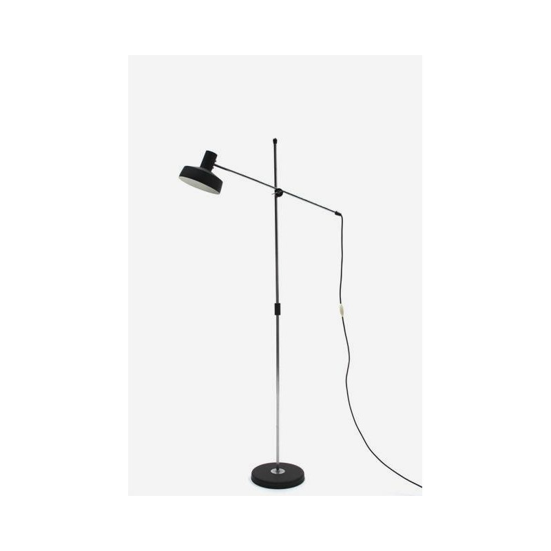 Floorlamp with black shade