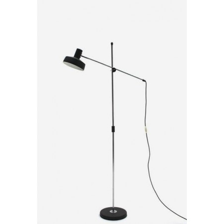 Floorlamp with black shade