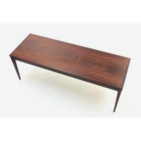 Palissander houten salontafel