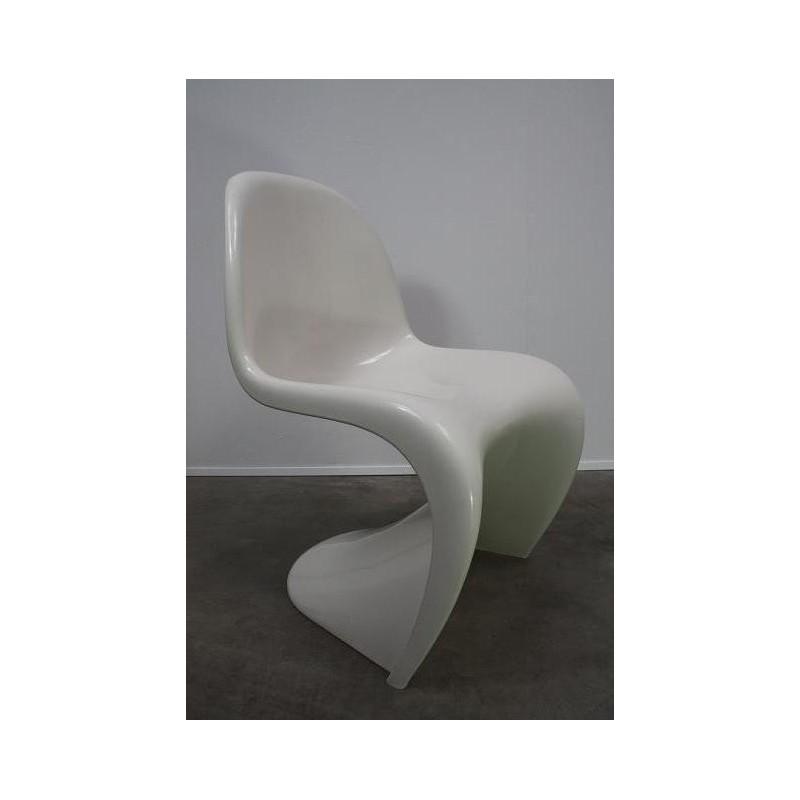 Verner Panton S chair kleur wit