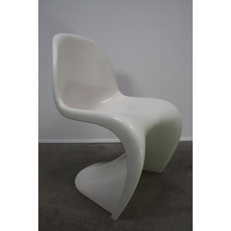 Verner Panton S chair kleur wit