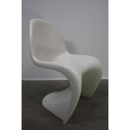 Verner Panton S chair white