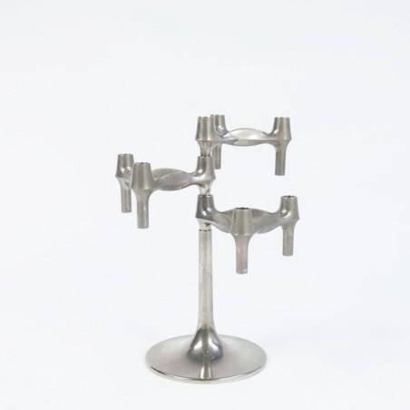 Nagel base for stackable candel holders
