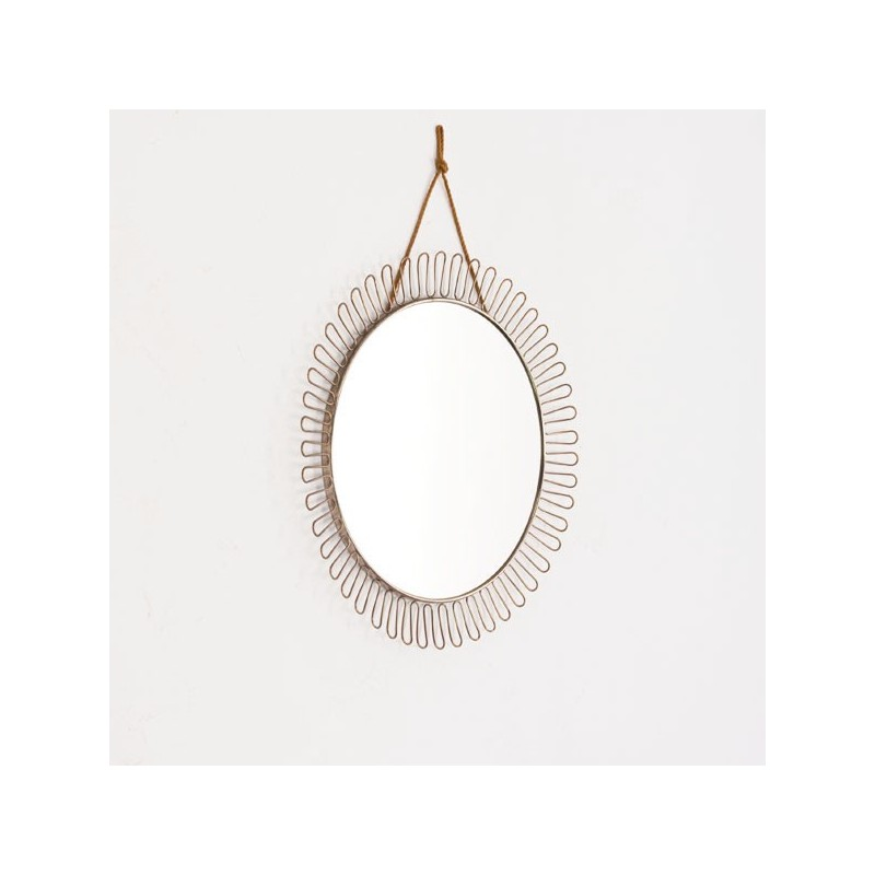 Round mirror 1950/60's
