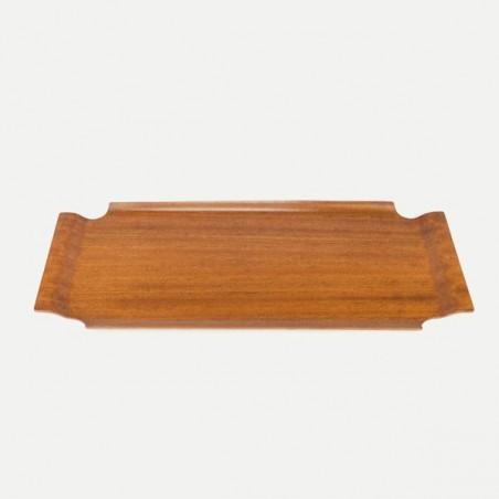 Dienblad van plywood met opstaande rand