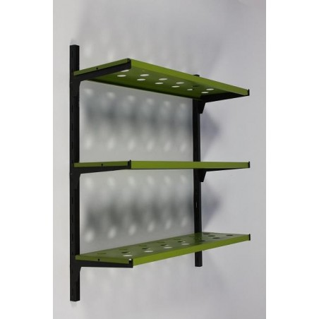 Metaal wandrek groen