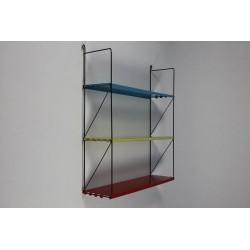 Metal wall rack no. 12