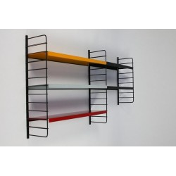 Metal wall rack no. 10