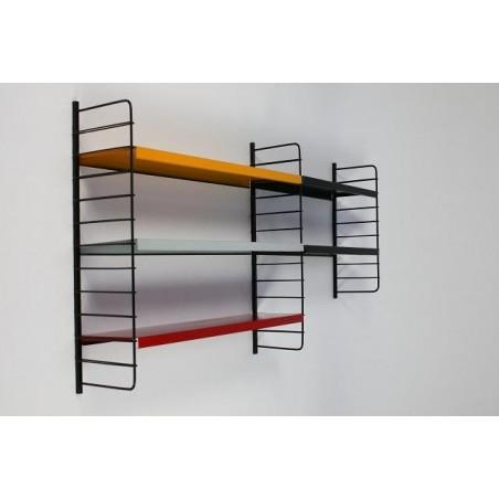 Metal wall rack no. 10