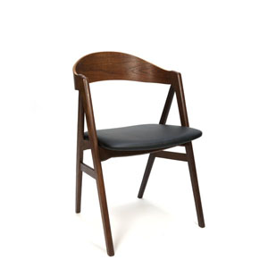 Organisch vormgegeven Deense design stoel
