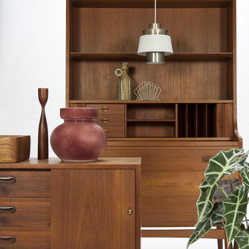 Vintage design Deens mid century modern interieur