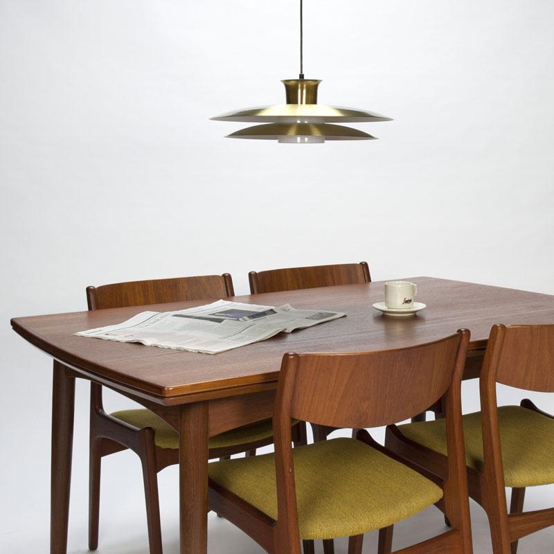 Vintage dining room set in teak Danish design