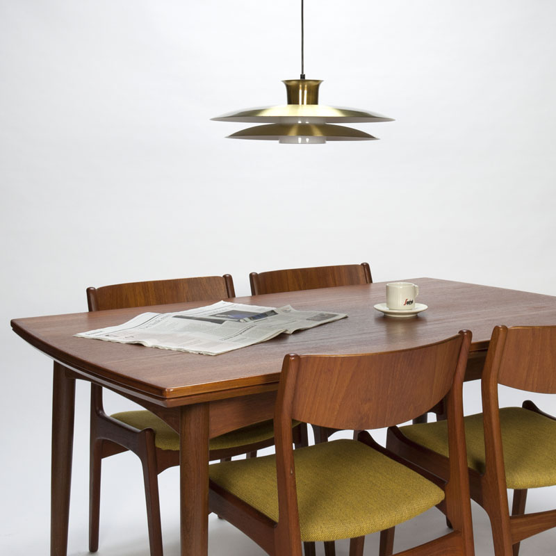 Vintage eetkamerset in teakhout Deens design