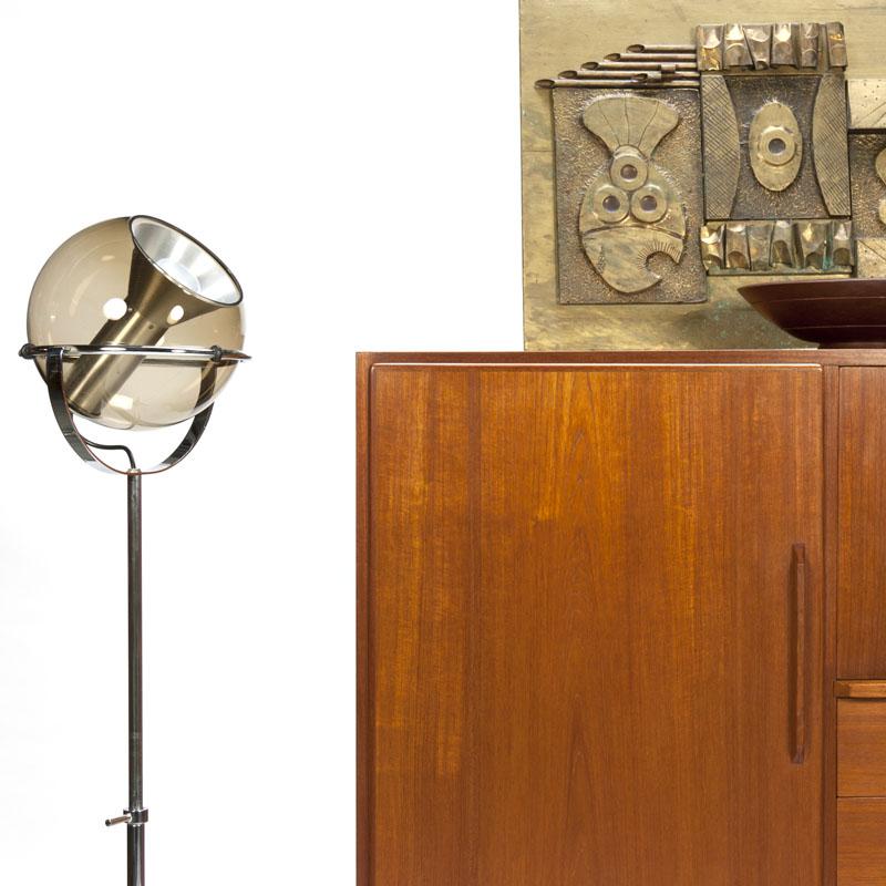 Vintage mid century Raak Globe