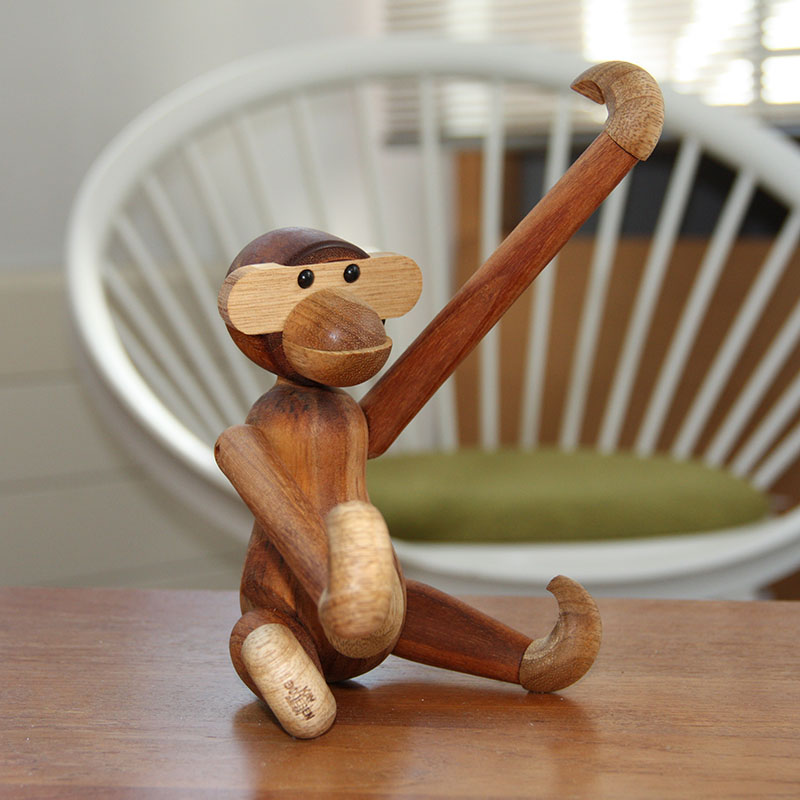 Wooden Monkey Kay Bojesen at Retro Studio