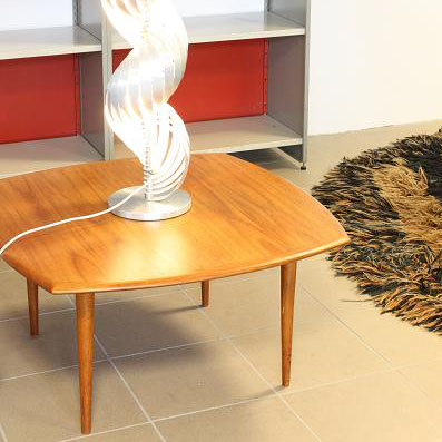 Coffee table vintage design by the Bovenkamp brand from the 1950s